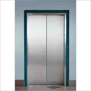 Stainless Steel Hair Line Finish Auto Door