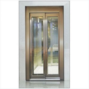 Telescopic Glass Door